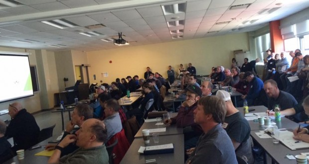 Ontario really is hopping! Standing room only at the OHGA March 19th AGM and Spring Workshop.