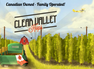 Clear Valley Hops – hop yard tour - Sat., July 30, 2016 @ Clear Valley Hops | Nottawa | Ontario | Canada
