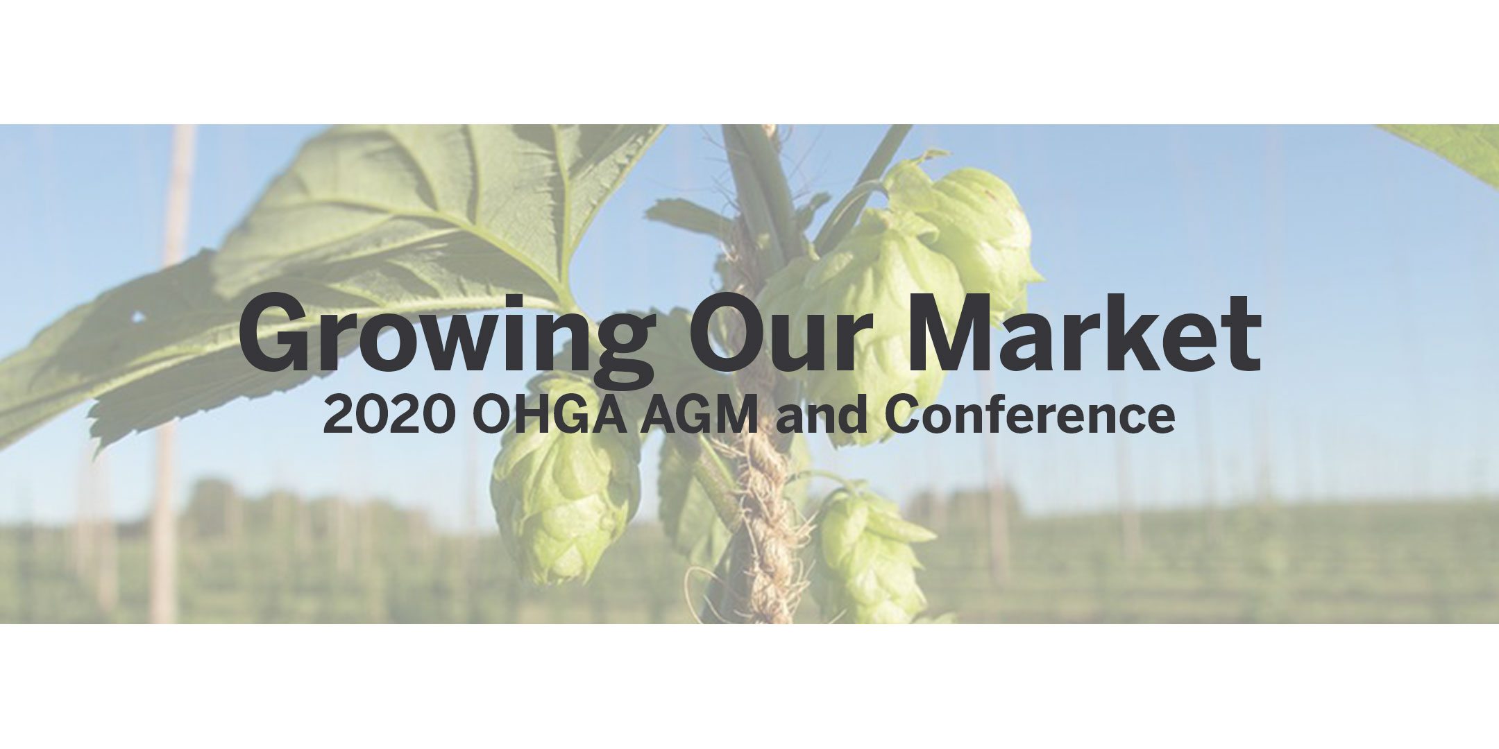 Growing Our Market - 2020 OHGA AGM
